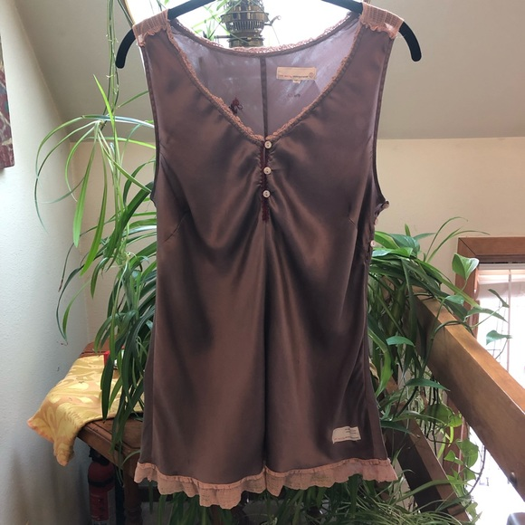 Odd Molly Tops - SILK CAMISOLE